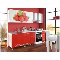 Кухни (разные рисунки) на 2400 мм с фотопечатью на МДФ