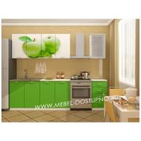 Кухни (разные рисунки) на 1800 мм с фотопечатью на МДФ