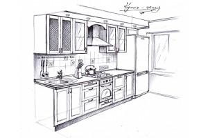 Кухни от 11990 руб. на заказ в Москве