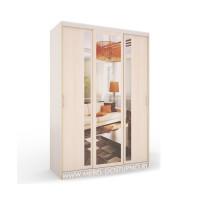 Маэстро Лекс-7 шкаф-купе с зеркалами