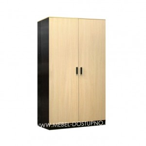 Лайт 2  шкаф 2-х створчатый распашной