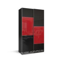 Нова-12 шкаф-купе с тонким профилем (подвесная система дверей)