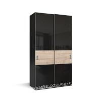 Нова-14 шкаф-купе с тонким профилем (подвесная система дверей)