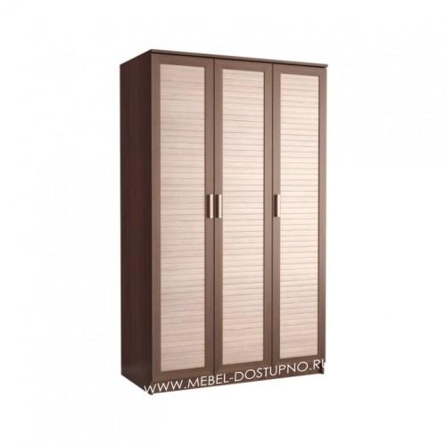 Жалюзи ТР-1 шкаф распашной (с реечными вставками Кантри)