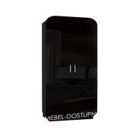 Модерн 1 шкаф распашной с закругленными углами