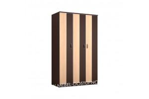 Глэдис ТК-1 распашной шкаф  3х дверный