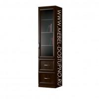 Пенал для книг Библиограф Колонка-4 (шкаф, стеллаж)