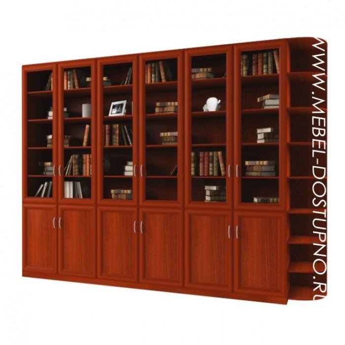 Гала 6.6у книжный шкаф (библиотека, стеллаж).