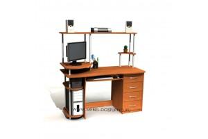 Компьютерный стол Компас-С-222 СН (письменный)
