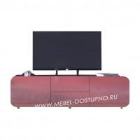 Тумба под телевизор  Модерн-14 (глянцевая с закругленными углами)
