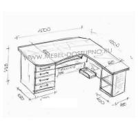 Компьютерный стол на заказ недорого в Москве