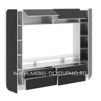 Стенка Купертино 3 глянцевая МДФ (квадрат нео)