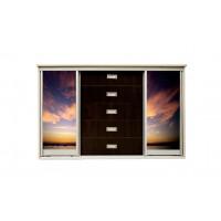комод Авант c дверями-купе и фотопечатью (более 20 видов)