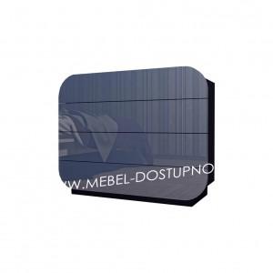 Комод глянцевый с закругленными углами Модерн-10