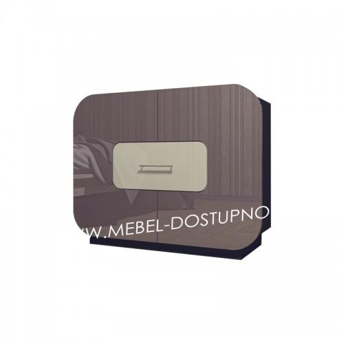 Комод глянцевый с закругленными углами Модерн-4