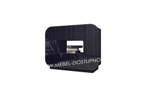 Комод глянцевый с закругленными углами Модерн-5