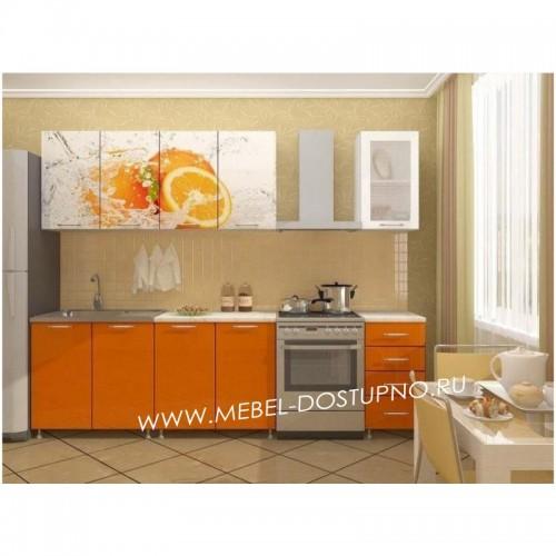 Кухни (разные рисунки) на 1700 мм с фотопечатью на МДФ