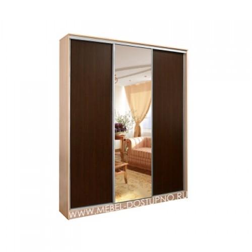 Рафаэль 3 Альянс шкаф-купе с зеркалом