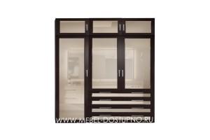 Блиц 3 шкаф распашной 3-х дверный  с антресолью