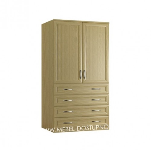 Гамма 14 Д шкаф распашной