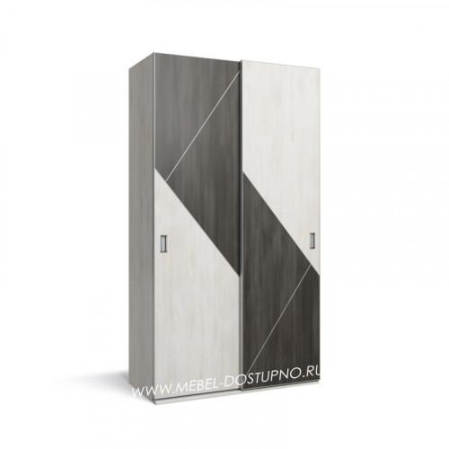 Нова-1 шкаф-купе с тонким профилем (подвесная система дверей)