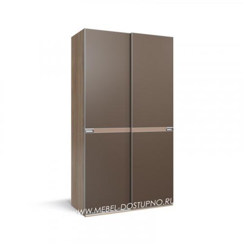 Нова-2 шкаф-купе с тонким профилем (подвесная система дверей)