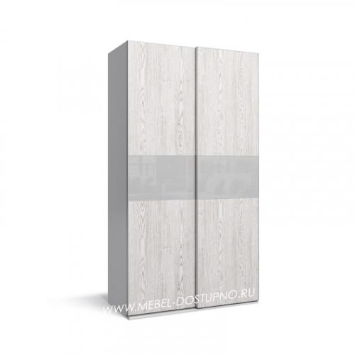 Нова-9 шкаф-купе с тонким профилем (подвесная система дверей)