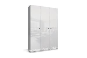 Тренд-7 распашной шкаф с фасадами МДФ глянец