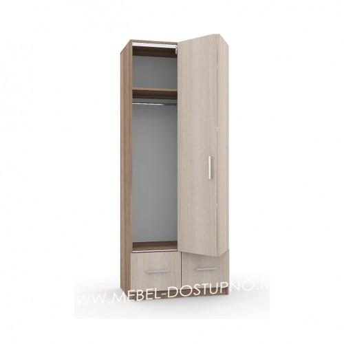 Шкаф-гармошка Люкс-1.2  (с ящиками)