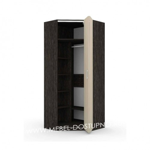Шкаф-гармошка Люкс-1У (угловой)