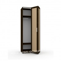 Шкаф-гармошка Люкс-1Ж (со складными дверями)