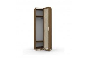 Шкаф-гармошка Люкс-1-Кожа (со складными дверями)