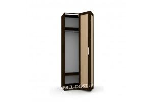 Шкаф-гармошка Люкс-1Д (со складными дверями)