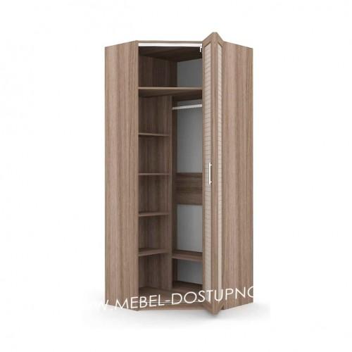 Шкаф-гармошка Люкс-1-УЖ (угловой)