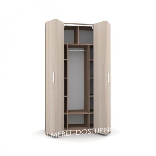Шкаф-гармошка Люкс-2 (со складными дверями)