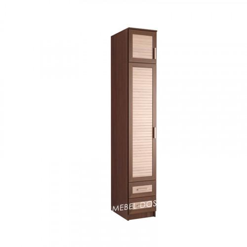 Жалюзи шкаф пенал ПР-9 (с реечными вставками Кантри)