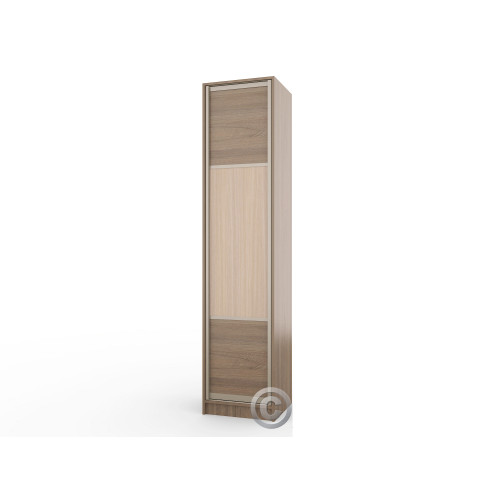 Колонка пенал Версаль-1 (узкий распашной шкаф)