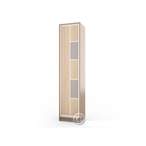Колонка пенал Версаль-11 (узкий распашной шкаф)