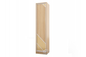 Колонка пенал Версаль-12 (узкий распашной шкаф)