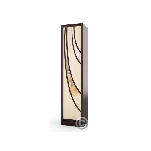 Колонка пенал Версаль-9 (узкий распашной шкаф)