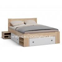 Кровать Фокус MD с выдвижными тумбами