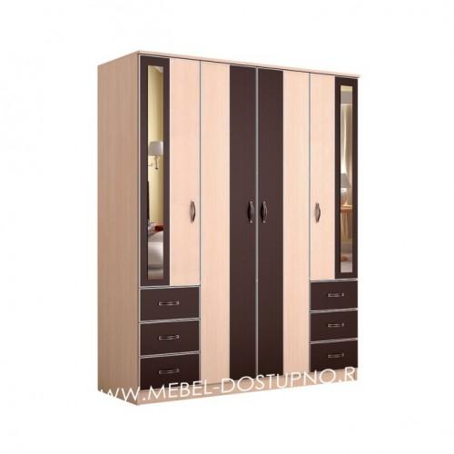 Глэдис ЧК-3 распашной шкаф