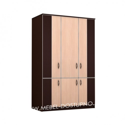 Глэдис ТК-9 распашной шкаф  3х дверный