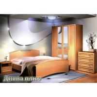Спальный гарнитур Диона Плюс (мебель для спальни)