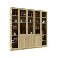 Гала 5.3 книжный шкаф (библиотека, стеллаж)