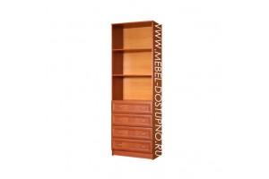 Шкаф для книг С-4  с ящиками (библиотека, стеллаж)