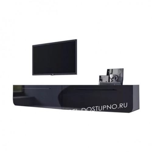 Тумба под телевизор  Модерн-1 (глянцевая с закругленными углами)