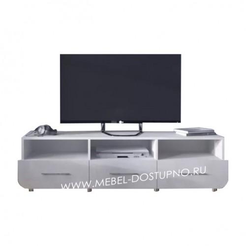 Тумба под телевизор  Модерн-11 (глянцевая с закругленными углами)