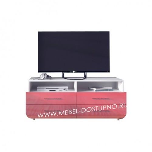 Тумба под телевизор  Модерн-15 (глянцевая с закругленными углами)