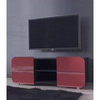 Тумба под телевизор  Модерн-3 (глянцевая с закругленными углами)
